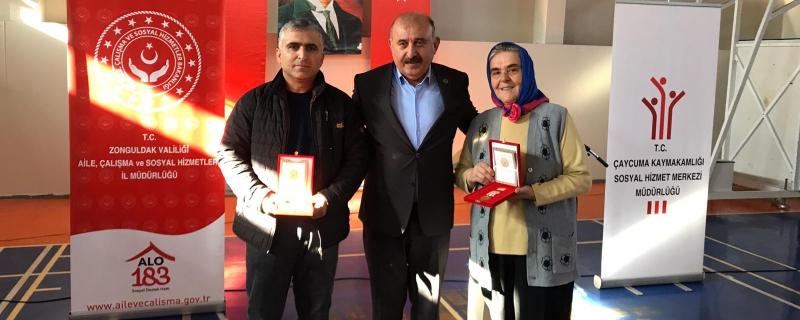 Kıbrıs Gazilerimize Milli Mücadele Madalyaları Takdim Edildi