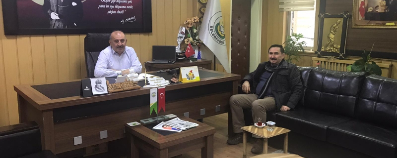 Ertan Civak Belediye Başkanımızı makamında ziaret etti