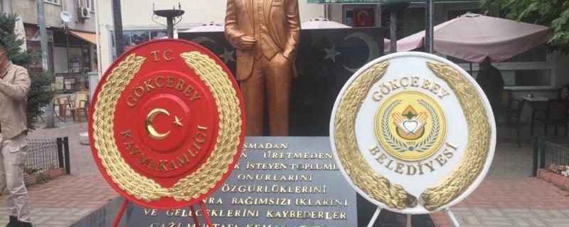 Başkan Öztürk19 Eylül Gaziler Günü törene katıldı