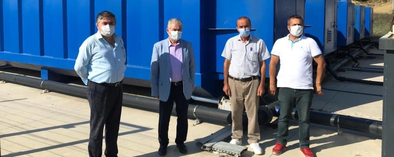 Katı Atık Paket Arıtma Tesisi için incelemeler yapılıyor
