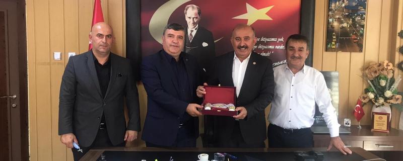 Başkanımızı, Türk Metal Sendika Başkanı ziyaret etti