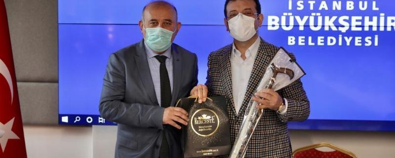 Başkanımız Vedat Öztürk  İstanbul Büyükşehir Belediyesinde