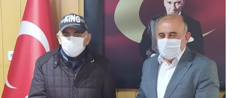 Kemal Durdu Belediye Başkanımız Vedat Öztürk e teşekkür ziyaretinde bulundu