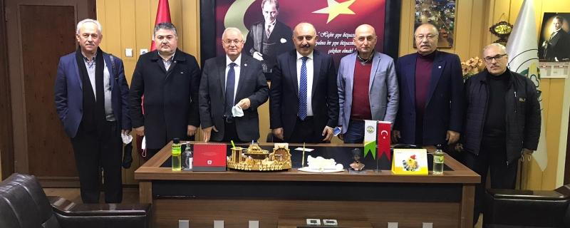 İYİ Parti Zonguldak İl Başkanımız Sayın Yavuz Erkmen Gökçebey Belediyesi inde