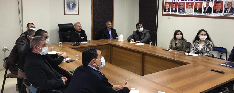 Başkan Öztürk Geri Dönüşüm Tesisi projesi toplantısı gerçekleştirdi