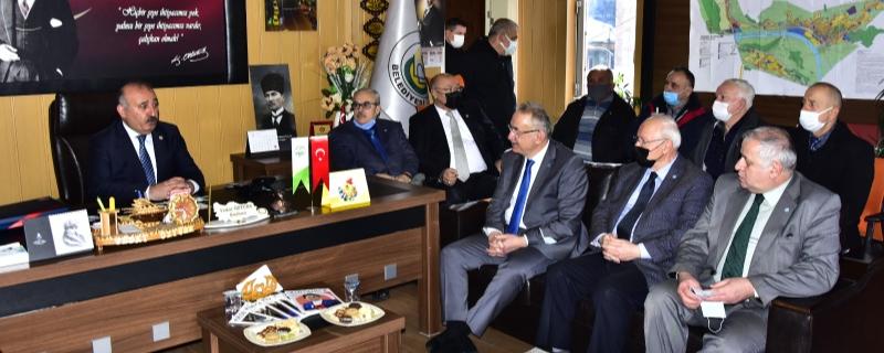 İYİ Parti  Vekillerimiz Sayın Tatlıoğlu ve Sayın Yaşar Gökçebey de
