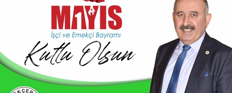 Başkanımız Öztürk Emek ve Dayanışma Günü olan 1 Mayıs İşçi Bayramını kutluyorum