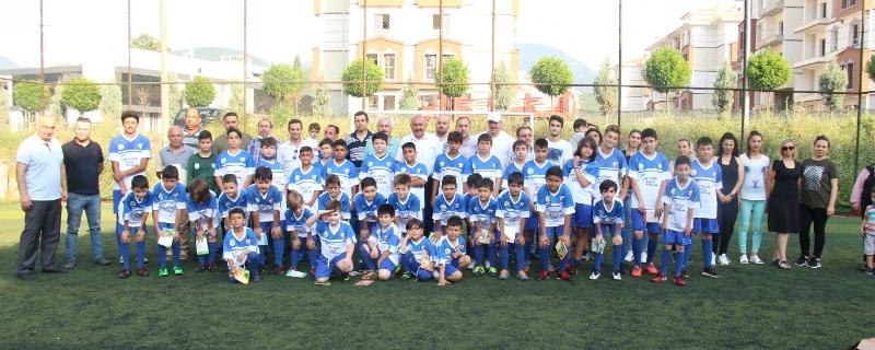 Başkanımız  Öztürk  Gökçebeyspor Futbol Akademisinde