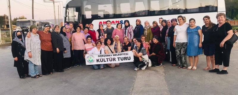 Başkanımız kadınlarımıza Sinop gezisi desteği verdi