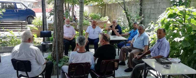 Başkan Çukur Mahallesinde vatandaşlarka bir araya geldi