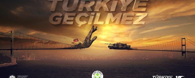Başkan Öztürk ün 15 Temmuz Demokrasi ve Milli Birlik mesajı