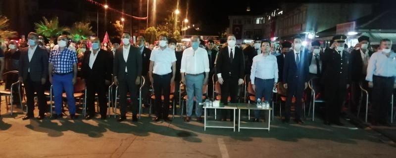 15 Temmuz Şehitleri Anma Demokrasi ve Milli Birlik Günü kutlamaları