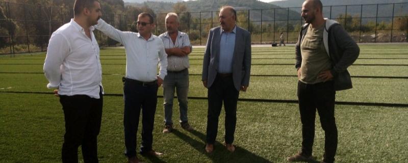 Başkan Gençlik Merkezi ve Spor Kompleksi ni ziyaret etti